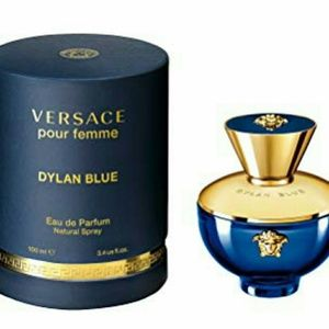 Brand New Versace Pour Femme Dylan Blue 3.4oz